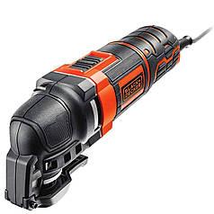 Многофункциональный инструмент Black+Decker 280 Вт 22000 об/мин + насадки + сумка MT280BA-QS
