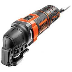 Многофункциональный инструмент Black+Decker 300 Вт 22000 об/мин + насадки + кейс MT300KA-QS