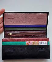 Женский кожаный кошелек Balisa PY-D113 черный Женские кожаные кошельки БАЛИСА оптом Одесса 7 км, фото 2