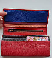 Женский кожаный кошелек Balisa PY-D129  красный Женские кожаные кошельки БАЛИСА оптом Одесса 7 км, фото 2