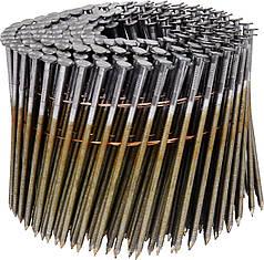 Гвозди барабанные для пневматического гвоздезабивного пистолета VOREL 90 х 2.8 мм 3000 шт 71997