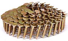 Гвозди барабанные для пневматического гвоздезабивного пистолета VOREL 19 х 3.1 мм 4200 шт 72000