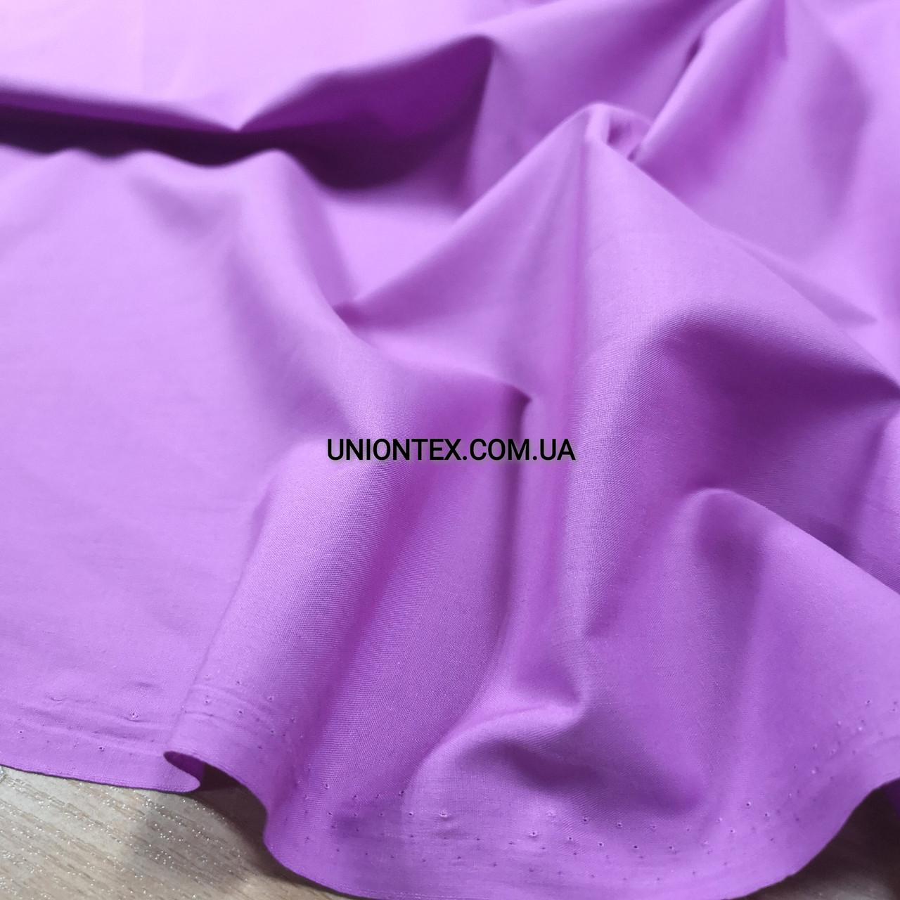 Рубашечная ткань сиреневая