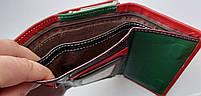 Женский кожаный кошелек Balisa PY-H144 красный Женские кожаные кошельки БАЛИСА оптом Одесса 7 км, фото 5