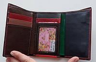 Женский кожаный кошелек Balisa PY-H144 бордовый Женские кожаные кошельки БАЛИСА оптом Одесса 7 км, фото 3
