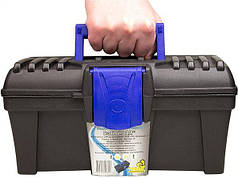 """Ящик для инструментов пластиковый Caliber 12"""" TM VIROK 300 x 167 х 150 мм 79V112"""
