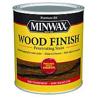 Масляная морилка MINWAX WOOD FINISH (темный орех 2716) 0,946 л