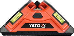 Уровень лазерный для укладки плитки YATO 10 м +/-1 мм угол-90° 2 лазера 2 капсулы 2 x AA YT-30410