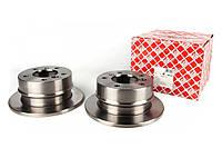 Тормозной диск задний (258х12мм) VW LT 28-35  \  Mersedes Sprinter 208-216 1996-2006  FEBI (Германия) 09102