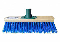 """Щітка вулична термопластик синя з ребрами жорскості ТМ """"VIROK"""" 600 х 75 мм 12V066"""