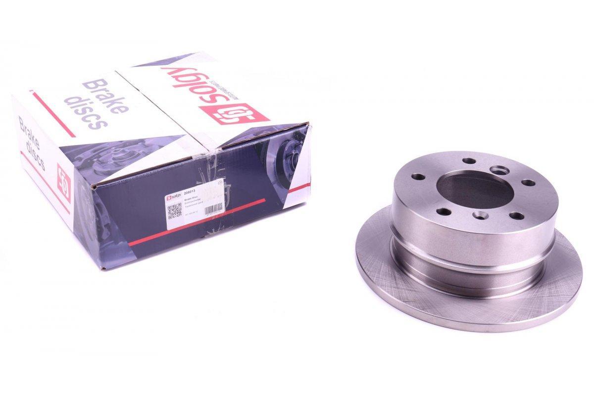 Гальмівний диск задній (258х12мм) VW LT 28-35 \ Mersedes Sprinter 208-216 1996-2006 SOLGY (Іспанія) 208013