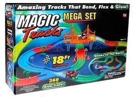 Конструктор, Magic Tracks 360 деталей, дитяча дорога + 2 машинки