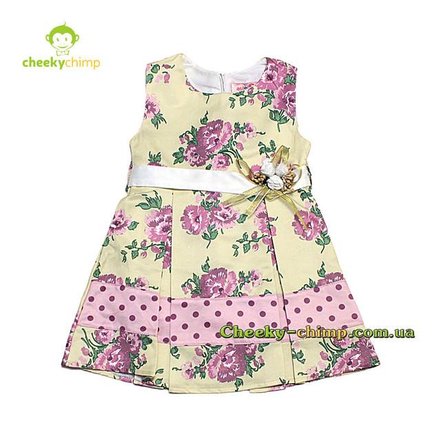 Нарядное платье на девочку 2, 3, 4 года