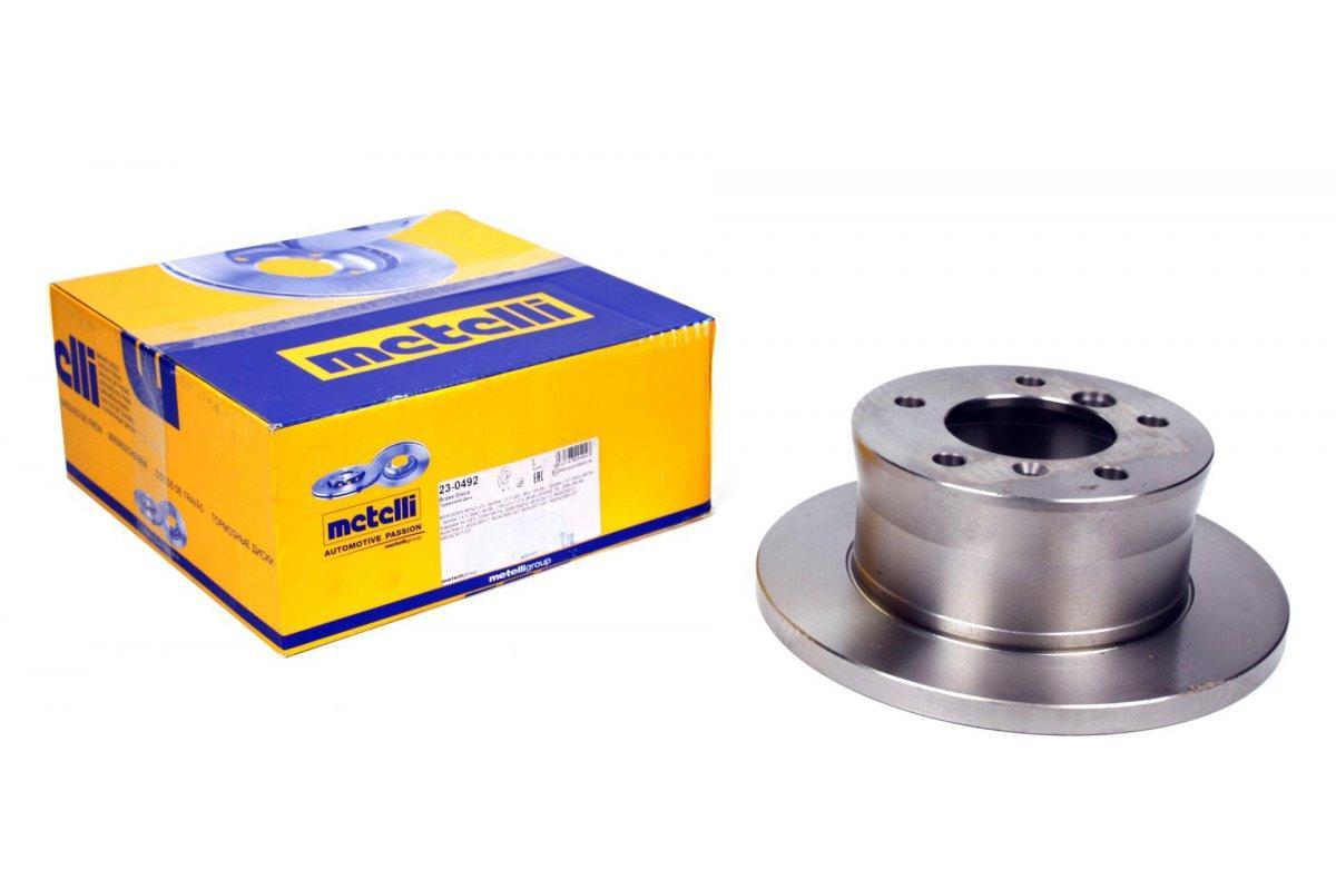 Гальмівний диск задній (272x16) VW LT 28-35 \ Mersedes Sprinter 308-316 96-06 METELLI (Італія) 23-0492