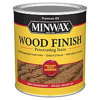 Масляная морилка MINWAX WOOD FINISH (специальный орех 224) 0,946 л