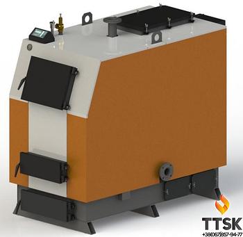 Твердотопливный котел Kotlant КВ-400 с электронной автоматикой и вентилятором
