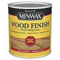 Масляная морилка MINWAX WOOD FINISH (сосна Ипсвич 221) 0,946 л