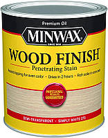 Масляная морилка MINWAX WOOD FINISH (белый 275) 0,946 л