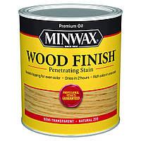 Масляная морилка MINWAX WOOD FINISH (натуральный 209) 0,946 л
