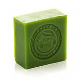 Натуральне мило з екстрактом чайного листа і кокосовим маслом BIOAQUA Matcha Natural Oil Soap, 100 г, фото 2