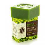 Натуральне мило з екстрактом чайного листа і кокосовим маслом BIOAQUA Matcha Natural Oil Soap, 100 г, фото 3
