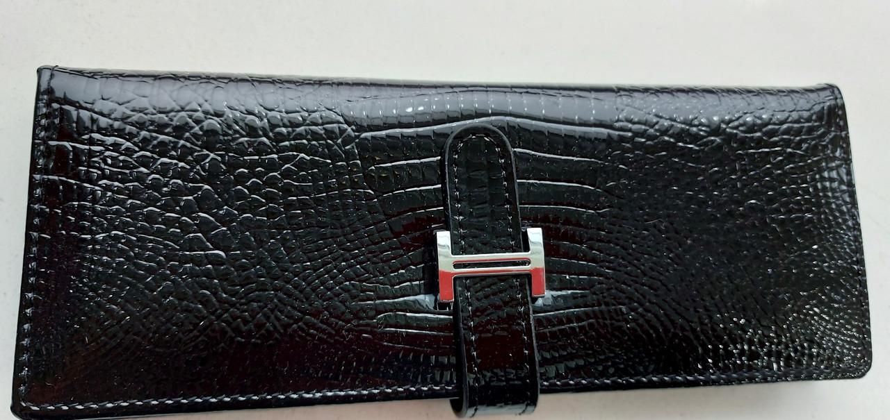 Визитница кожаная 832-45 черный Очень стильная, удобная, компактная визитница (Balisa) - из натуральной кожи
