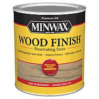 Масляная морилка MINWAX WOOD FINISH (серый 271) 0,946 л