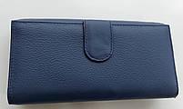 Женский кожаный кошелек с визитницей Balisa 140-1013 синий Кожаные кошельки оптом, фото 5