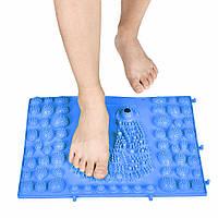 Коврик-пазл ортопедический массажный резиновый с магнитами (39сx28см)