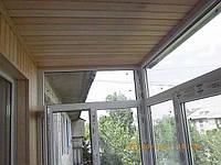 Обшивка балкона в Сталинке