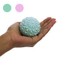Мяч массажный для самомассажа спины. Массажер для спины в виде мяча диаметром 6,5 см