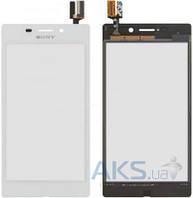 Сенсор (тачскрин) для Sony Xperia M2 Aqua D2403 Original White