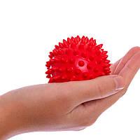 Мяч массажный для самомассажа спины. Массажер для спины в виде мяча диаметром 7 см