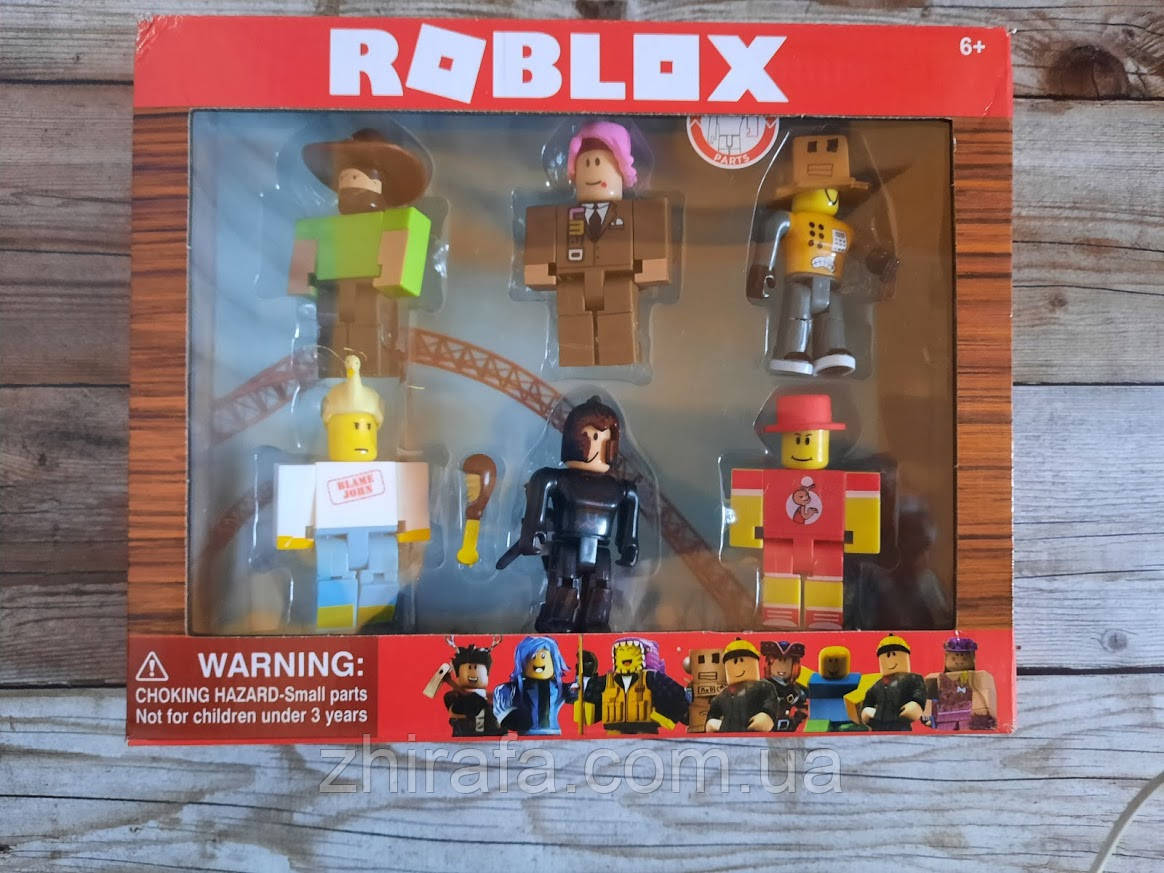 Набір фігурок Roblox Герої Роблокс , 24 фігурки