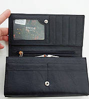 Женский кожаный кошелек с визитницей Balisa 140-1013 черный Кожаные кошельки оптом, фото 3