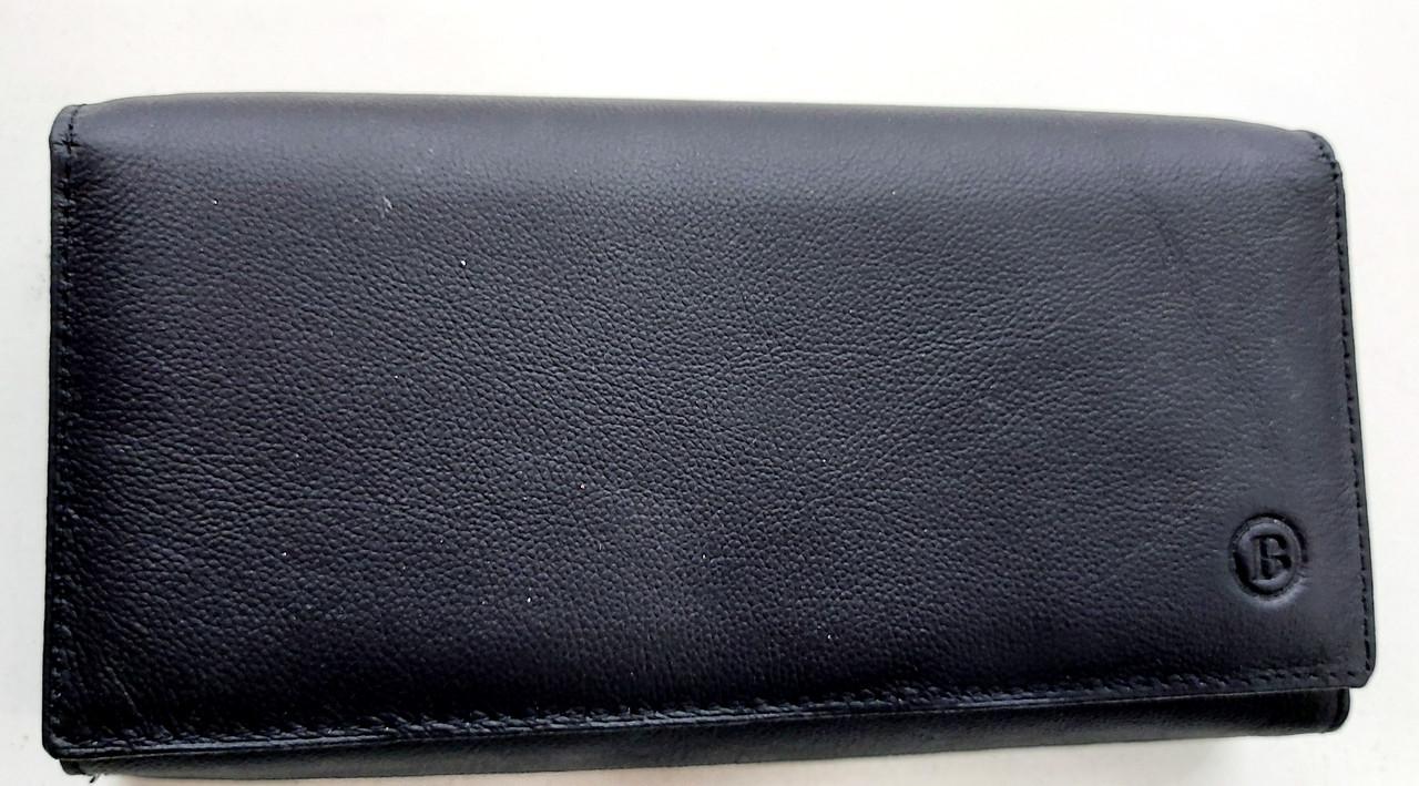 Женский кожаный кошелек с визитницей Balisa 140-1013 черный Кожаные кошельки оптом