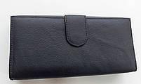 Женский кожаный кошелек с визитницей Balisa 140-1013 черный Кожаные кошельки оптом, фото 4