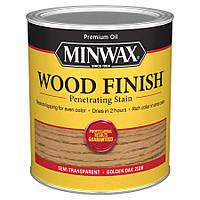 Масляная морилка MINWAX WOOD FINISH (золотой дуб 210B) 0,946 л
