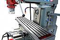 Горизонтально-вертикальный фрезерный станок по металлу BF 600D XL пр-ва HOLZMANN, Австрия, фото 6