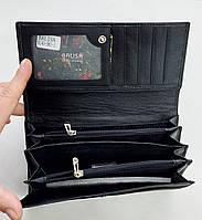 Женский кожаный кошелек с визитницей Balisa 140-581 черный Кожаные кошельки оптом, фото 3