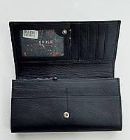 Женский кожаный кошелек с визитницей Balisa 140-581 черный Кожаные кошельки оптом, фото 2