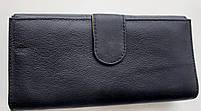 Женский кожаный кошелек с визитницей Balisa 140-581 черный Кожаные кошельки оптом, фото 4