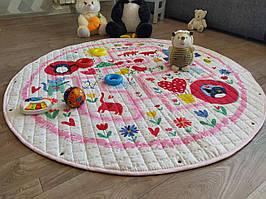 Дитячий килимок-мішок (Dizzy) круглий  150 см. (ХБ тканину) (150-440-DP1)