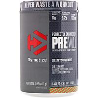 Pre W.O. - 400g - Dymatize Nutrition
