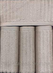 ТМ TAG Полотенце махровое  Nord grey 100% хлопок  40х70 см Рушник махровий бавовна