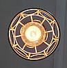 Подвесная люстра на 5-ламп RINGS-5G E27 на круглой основе, белый, фото 5