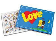 Шоколадный набор Love is Большой , подарок на 8 марта