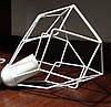 Подвесная люстра паук на 8-ламп RUBY-8 E27 белый 1,5м., фото 5