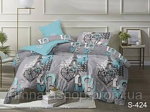 ТМ TAG Комплект постельного белья с компаньоном S424