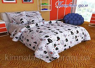 ТМ TAG Комплект постельного белья Кошкин дом